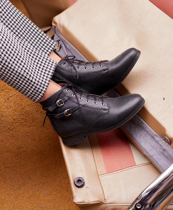Sézane Low Solene Boots