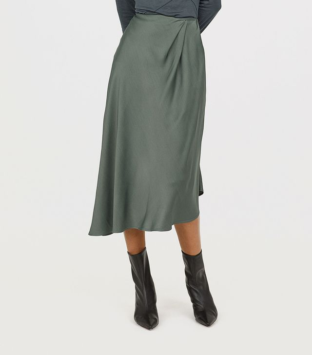 H&M Asymmetric Skirt