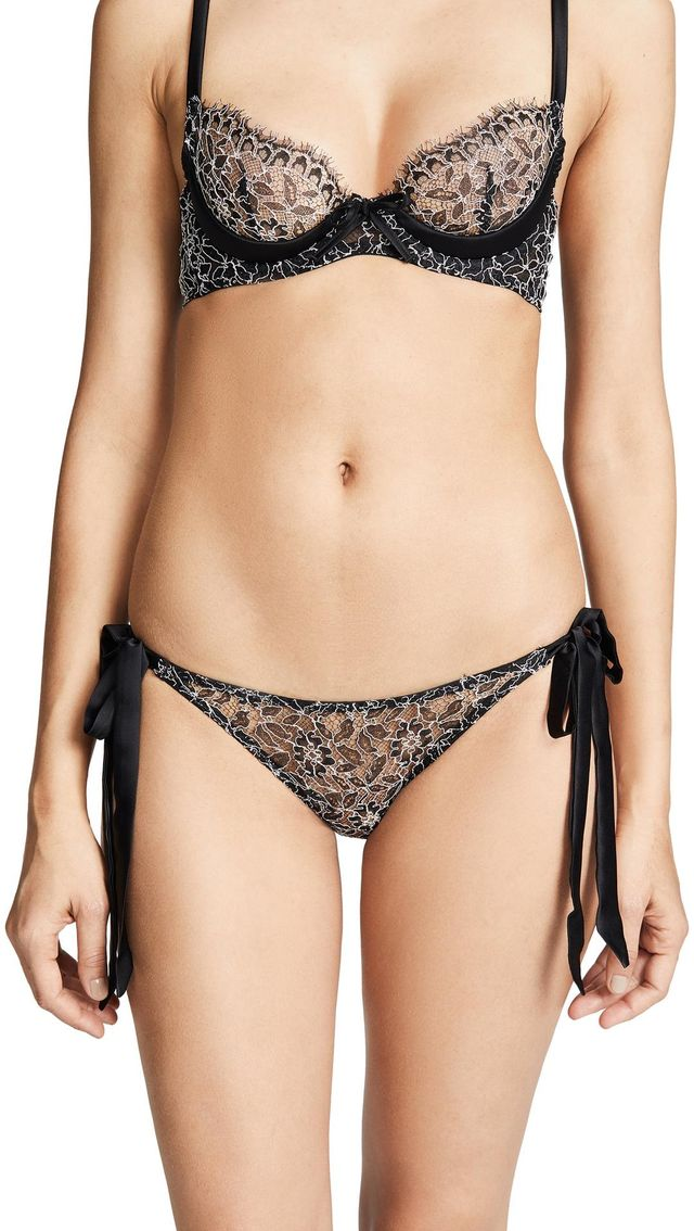 Hematite Tie Side Panties