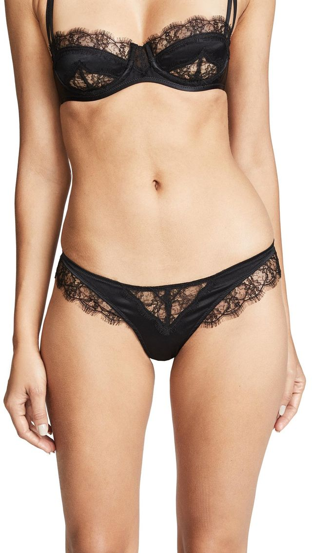 Icon Lace Thong