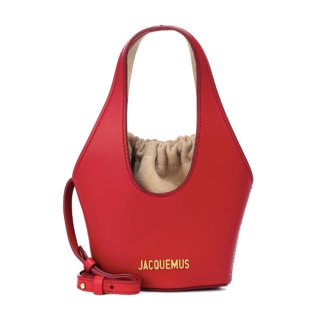 Jacquemus Le Cariño Leather Bucket Bag