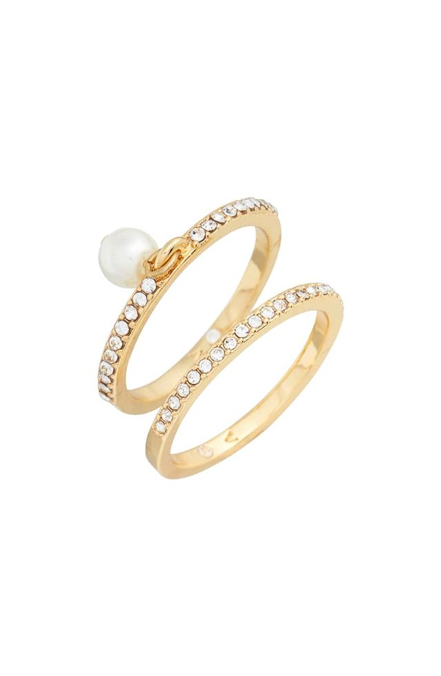 Vince Camuto Charm Ring Set