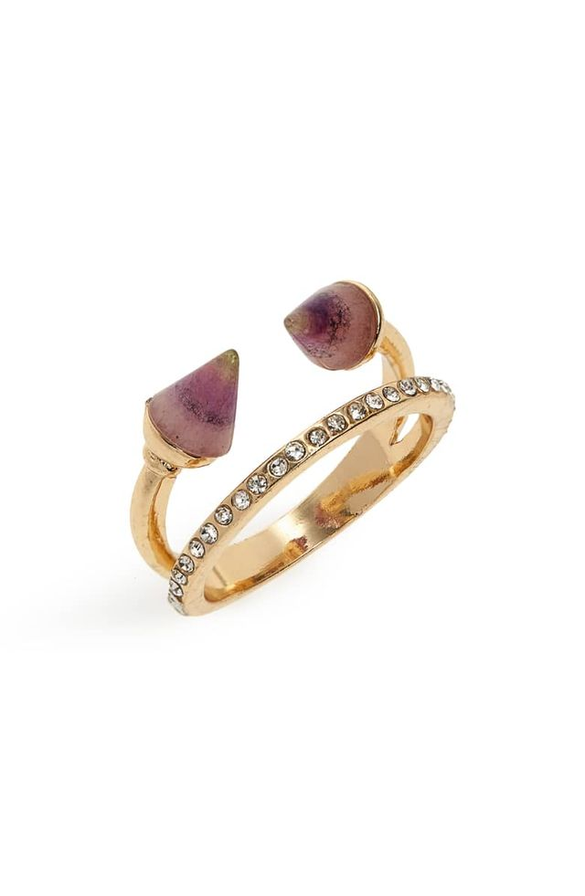 Panacea Spike Stone Ring