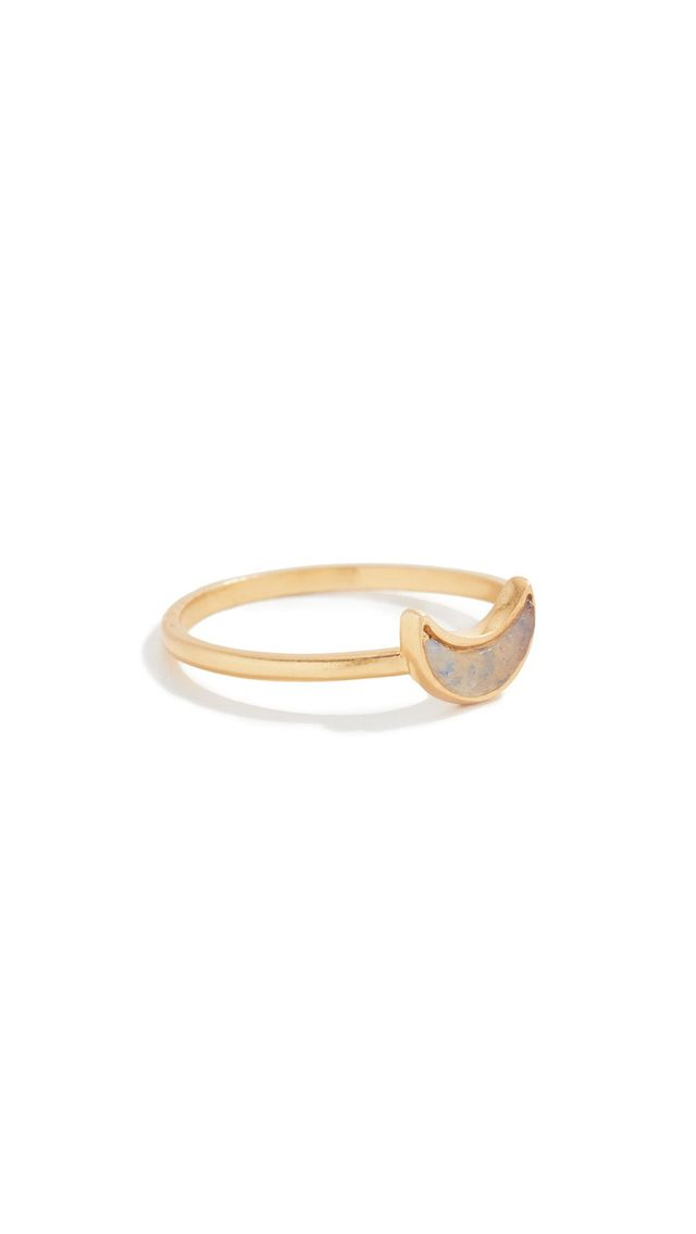 Madewell Crescent Moon Ring