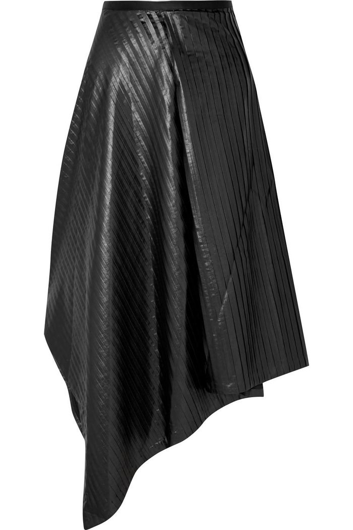 a227c05b60 20 Leather Midi Skirts You'll Want to Wear All Season | Who What Wear