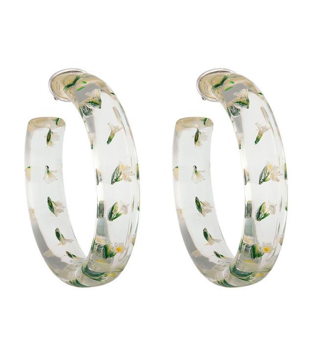 Tuza Jewelry Perpetua Hoop Earrings