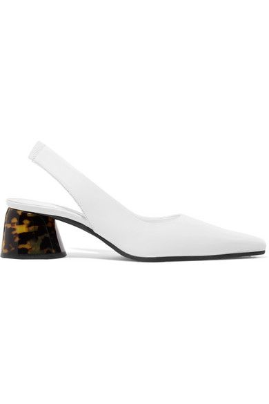 Ellery Leather Slingback Pumps