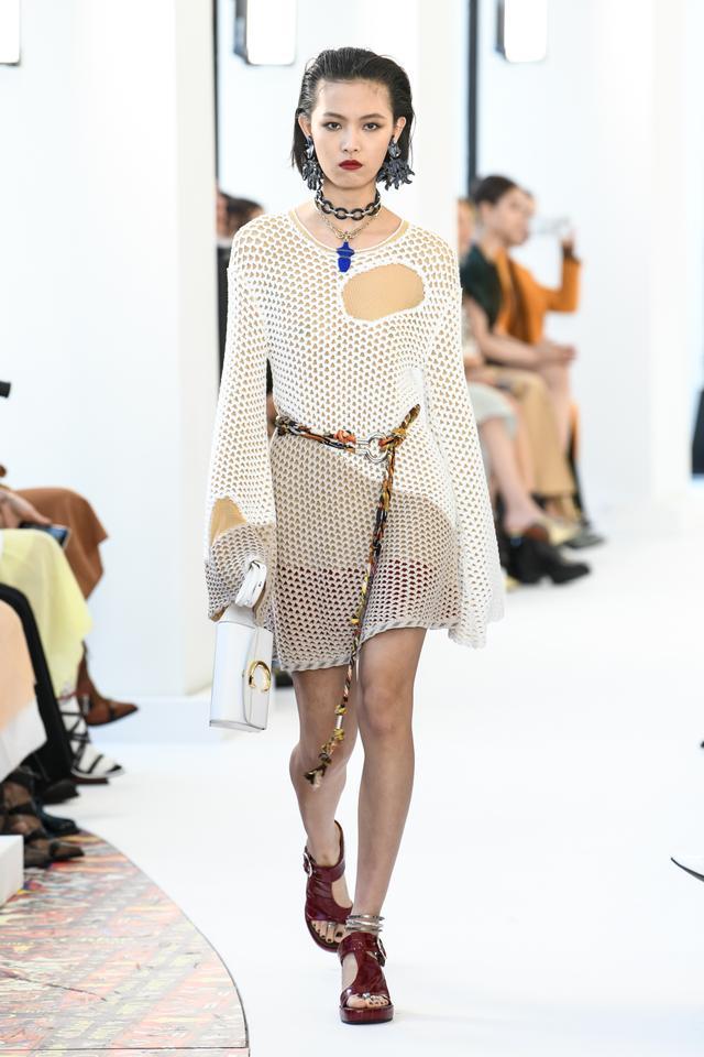 Chloe S/S 19 Crochet Dress