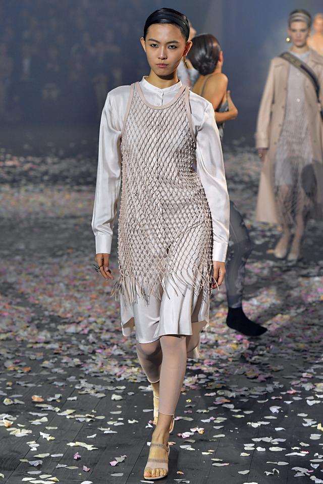 Dior S/S 19 Crochet Dress
