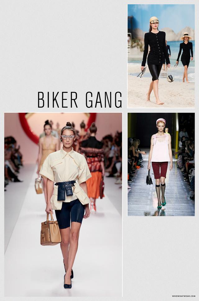 Spring 2019 fashion trends: biker gang