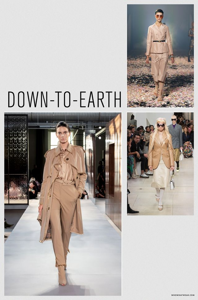 Spring 2019 fashion trends: down-to-earth