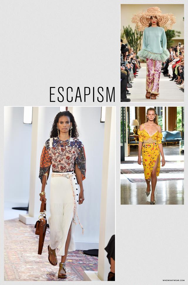 Spring 2019 fashion trends: escapism