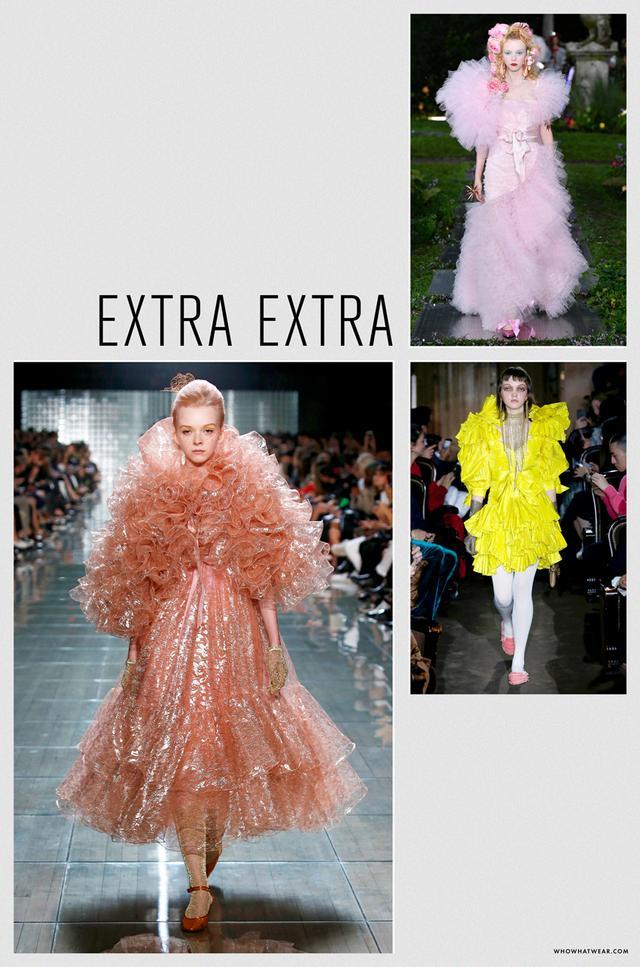 Spring 2019 fashion trends: extra extra