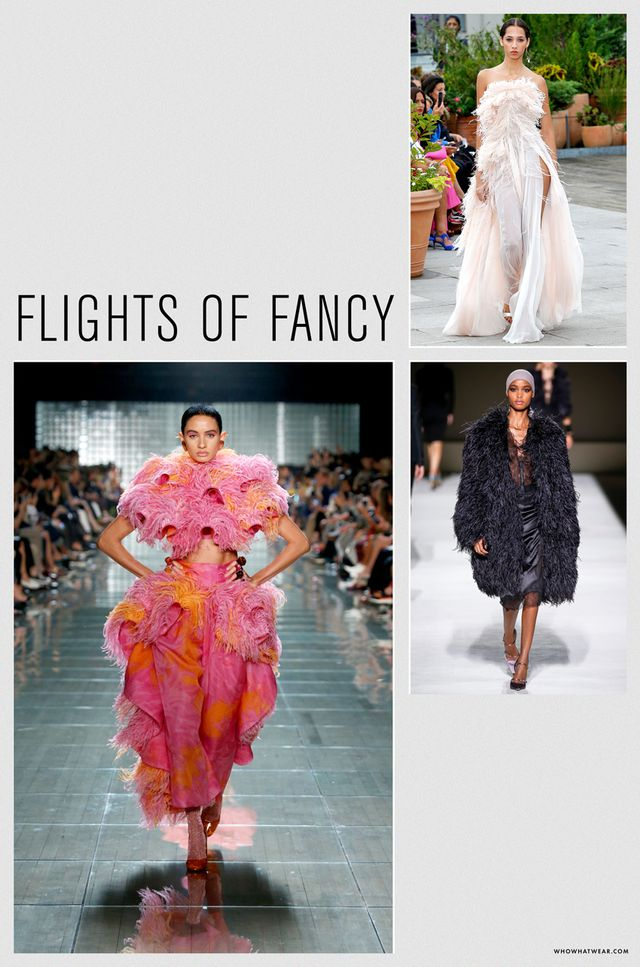 Spring 2019 fashion trends: flights of fancy