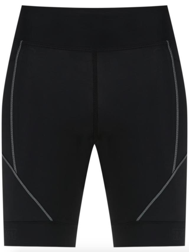 panelled running shorts