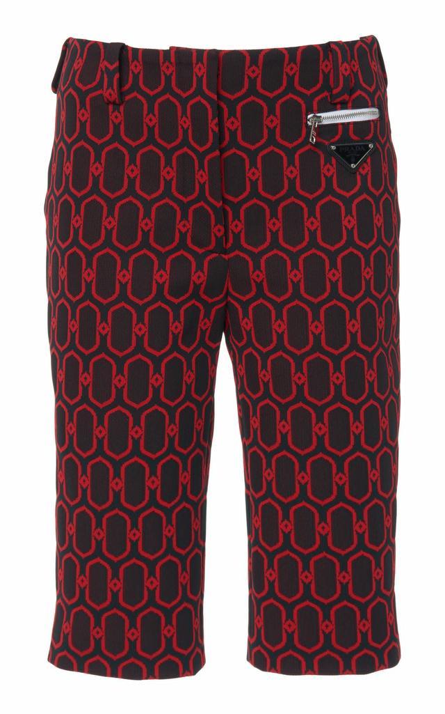 Jacquard Knit Bermuda Short