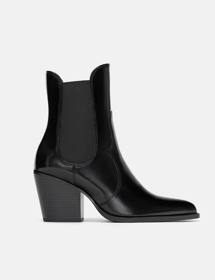 ba7a3c533ac See and Shop Our Editor's Favorite Black Western Ankle Boots | Who ...