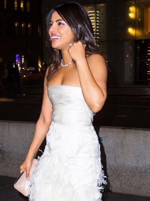 Priyanka Chopra Wore the Dreamiest Wedding Dress to Her Bridal Shower