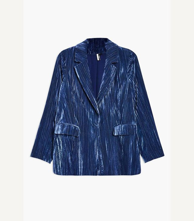 Celebrity party outfits: Topshop crinkle suit