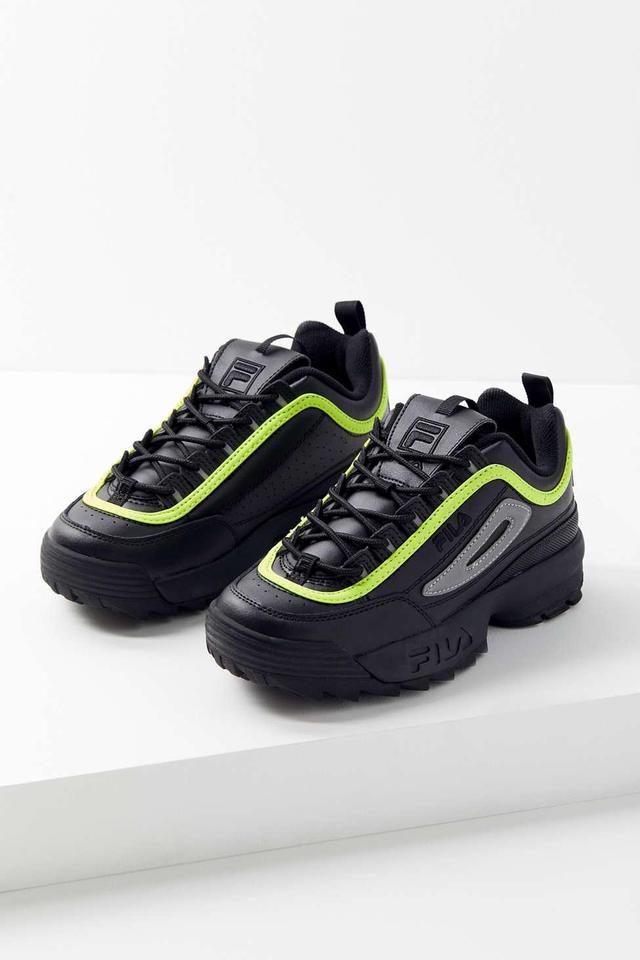FILA Disruptor 2 Premium Neon Women's Sneaker