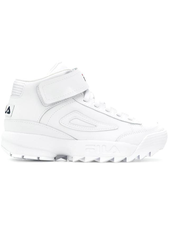 D2 Disruptor hi-top sneakers