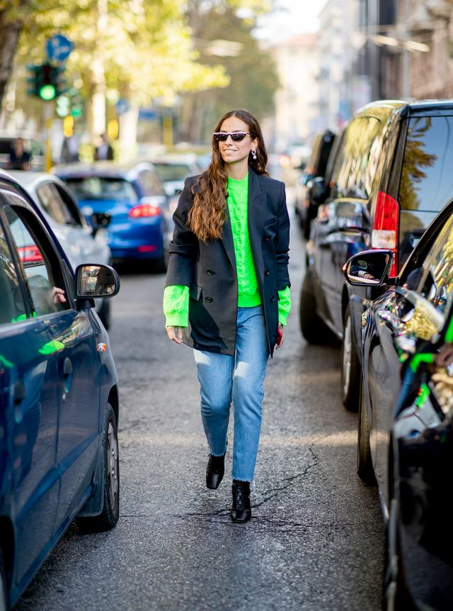 How to Pull Off the Neon Fashion Trend: Top
