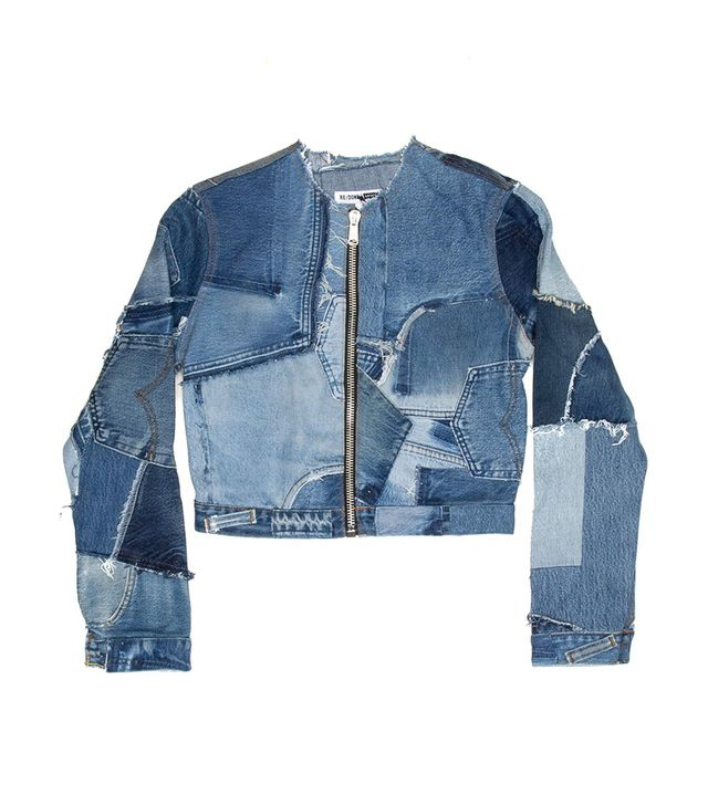 Re/Done x Levi's Patchwork Jacket
