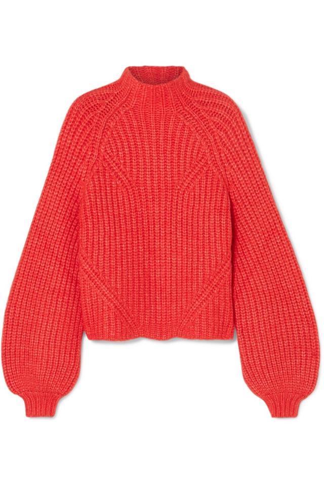 Micha Ribbed Alpaca-blend Turtleneck Sweater
