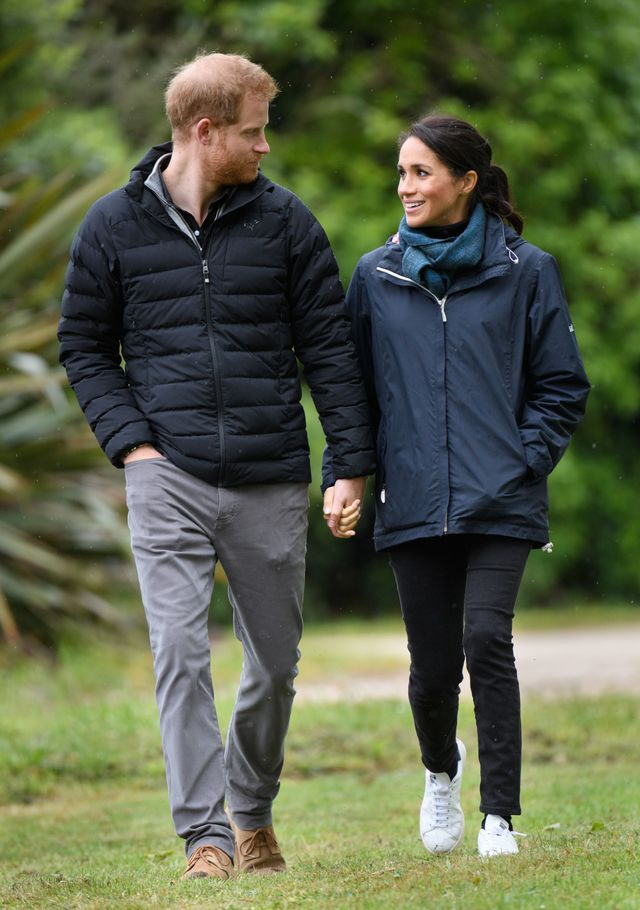 Meghan Markle's White Sneakers