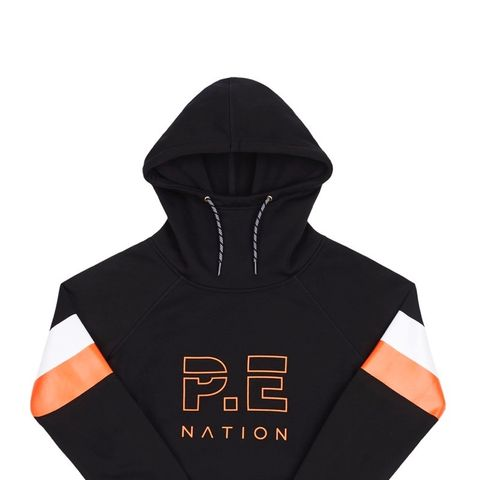 + DC Printed Stretch-Jersey Hoodie