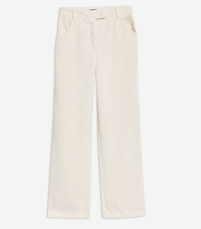 Topshop Corduroy Slouch Trousers