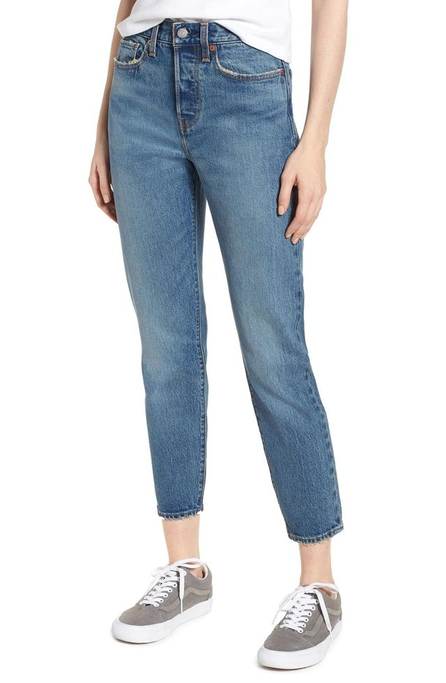 Women's Levi's Wedgie Icon Fit High Waist Ankle Jeans
