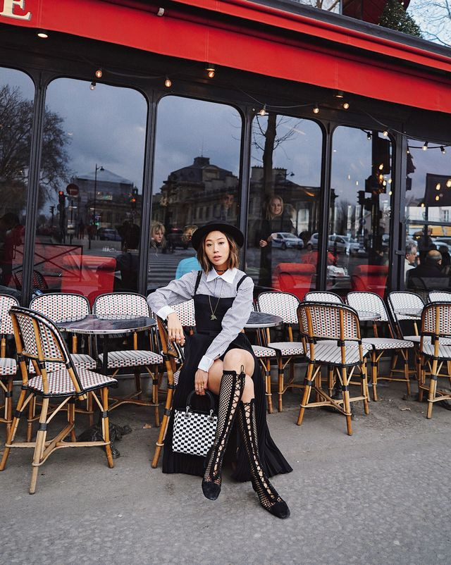 """<p>""""When I visited Paris for the very first time and saw French people dress—actually, they dress the same way seven years ago as they do now,"""" she explains. """"It's the..."""