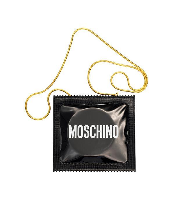 H&M x Moschino Patterned Shoulder Bag