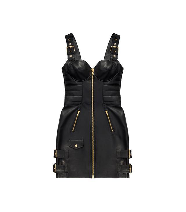 H&M x Moschino Leather Dress