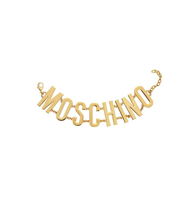 H&M x Moschino Gold-Plated Necklace