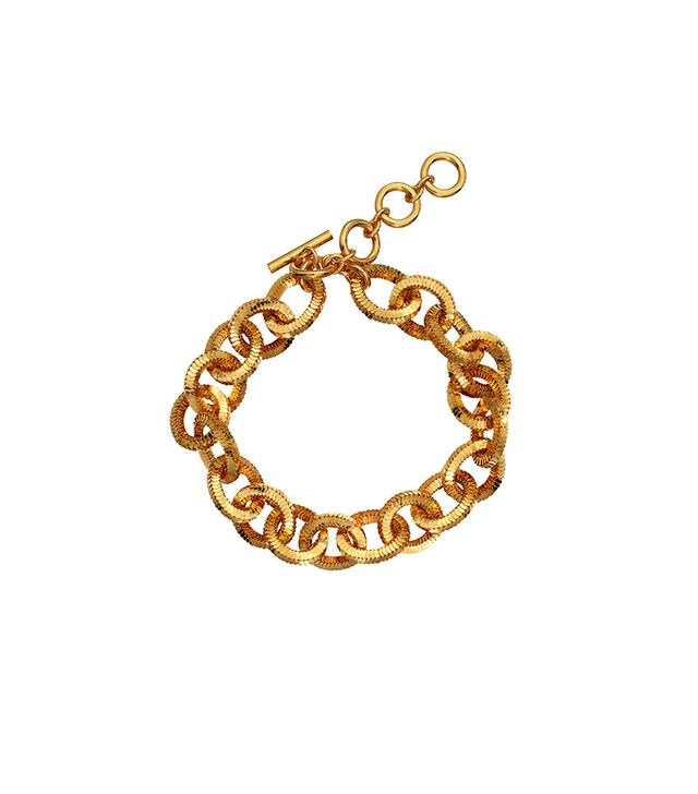 H&M x Moschino Gold Plated Bracelet