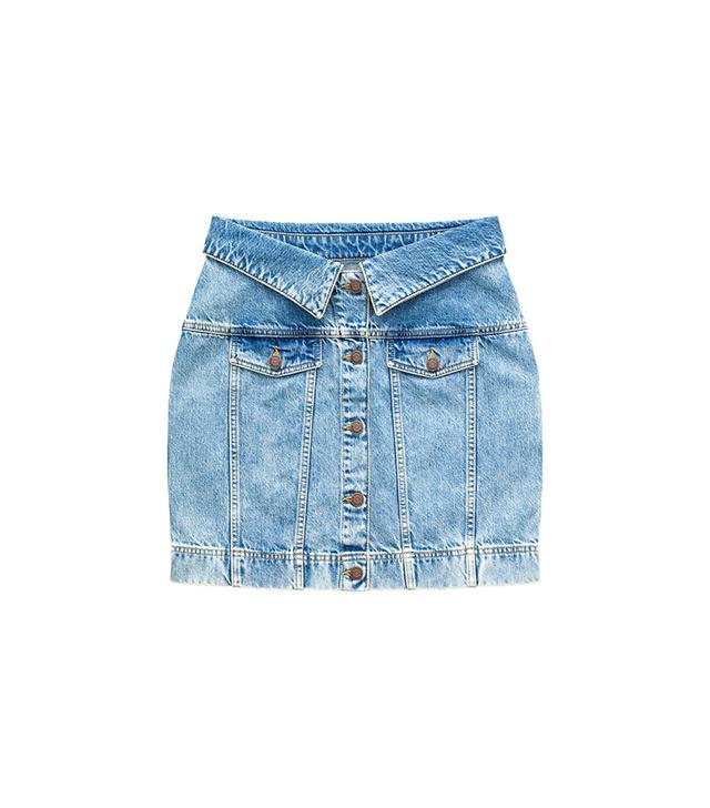 H&M x Moschino Denim Skirt