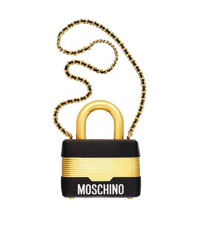 H&M x Moschino Leather Shoulder Bag