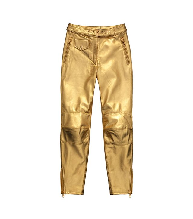H&M x Moschino Leather Pants