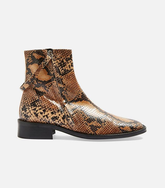 Topshop Audrey Snake Boots