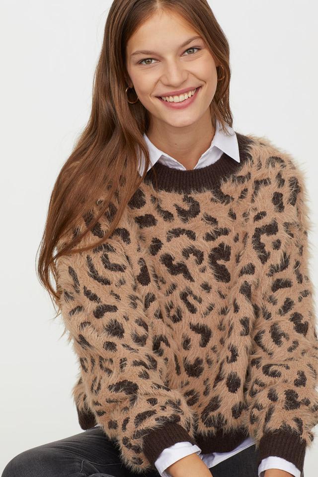 H&M Pattern-Knit Sweater