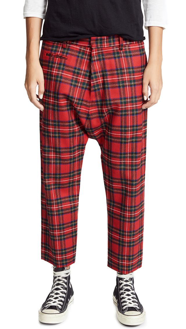 Tailored Drop Trousers