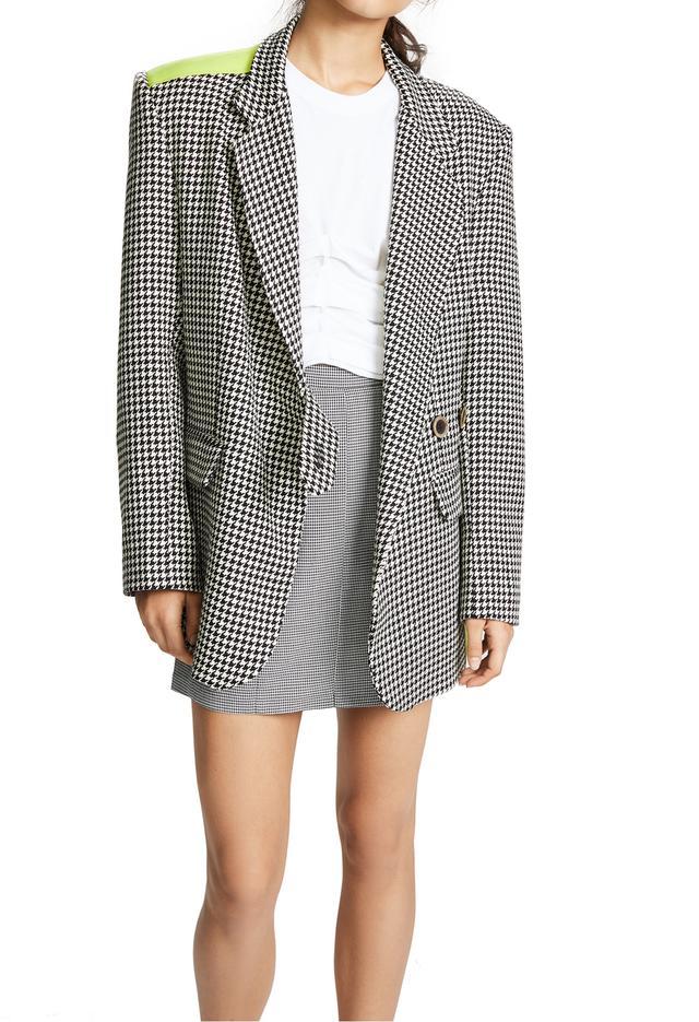 Wool Oversized Blazer