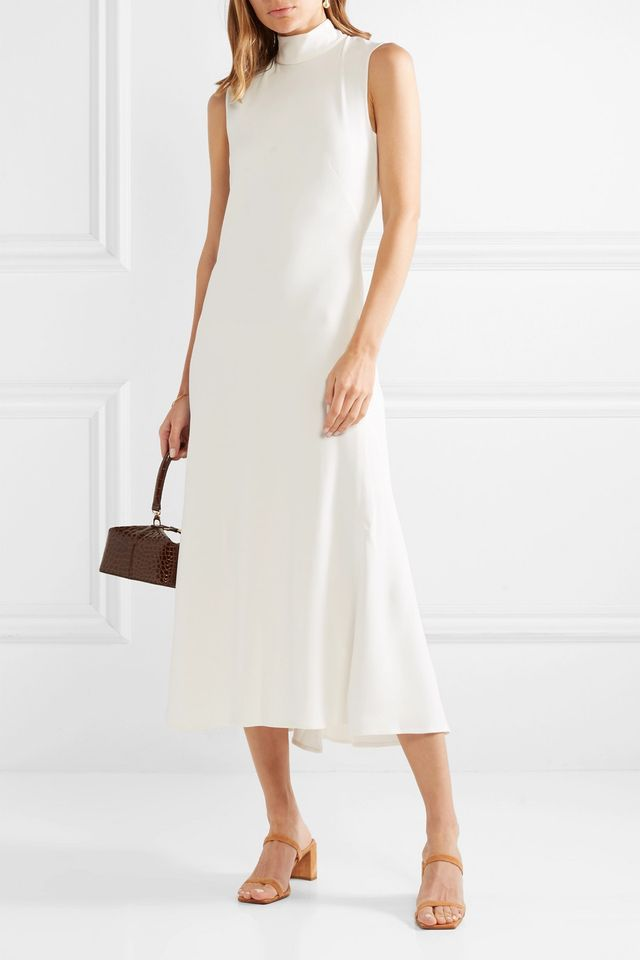 Coleen Cutout Stretch-crepe Midi Dress