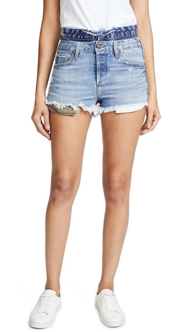 Maya High Waisted Shorts