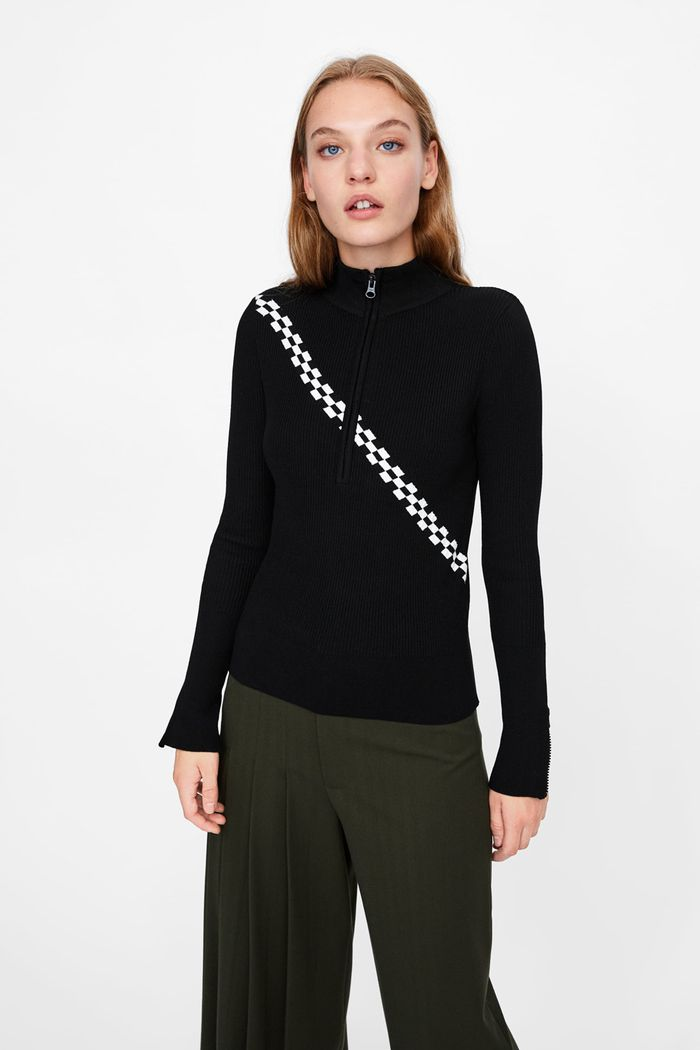 94476328 Shop the 17 Best Zara Sweaters   Who What Wear