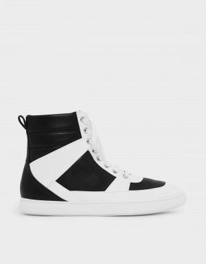 Charles & Keith Pointed High Cut Sneakers