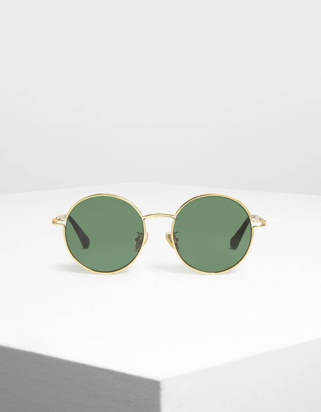 Charles & Keith Round Framed Shades