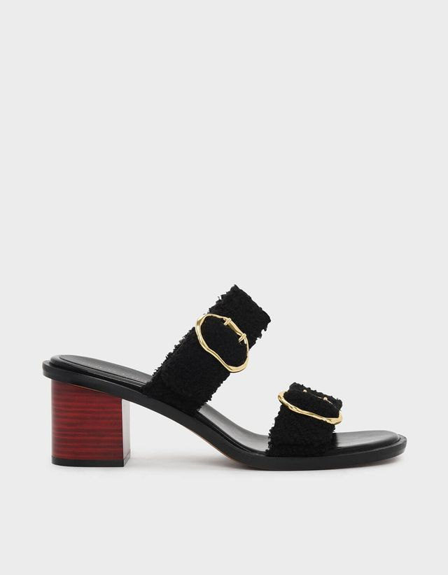 Charles & Keith Double Strap Mules